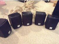JBL Cinema 510 5.1ch speaker system with subwoofer