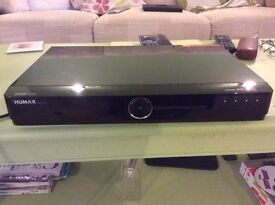 Humax HDR Fox T2 set top freeview box
