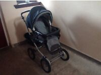 Pushchair with bassinet - Mamas and Papas