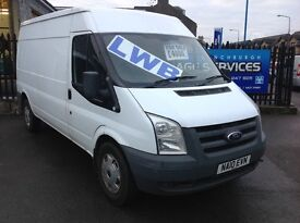 2010 FORD TRANSIT RWD 350 EXCELLENT CONDITION 11 MONTHS MOT LOW MILES *NO VAT* LWB PLY LINED BARGAIN