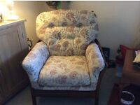 Ercol settee and armchair