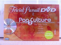 Trivial Pursuit - DVD Pop Culture 2Nd Edition Board Game (NEW) - HARROW