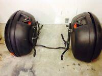 Suzuki bandit 600 mk 1 ,kappa k 40 panniers and fitting rack