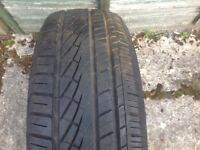 Part Worn Tyre 195 X 55 X 15