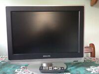 Philips 19 inch flatscreen TV