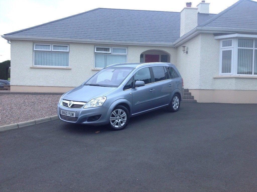 2010 Vauxhall Zafira 1.9 CDTi Elite 5dr