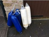 5 Boat Fenders. Used but in good condition