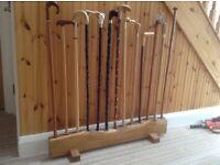 Walking sticks hand crafted