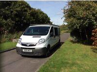 Vauxhall Vivaro Crew Van, low mileage, low price, quick sale!