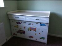 Sideboard cupboard 1950 baby change unit?