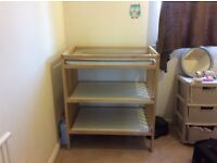 Baby Changing Table/Storage Unit
