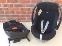 Cybex Aton car seat with isofix base