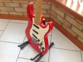 Squier Korean Stratocaster.