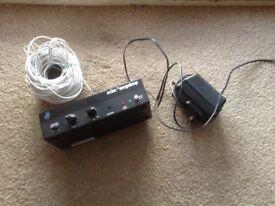 Television hearing loop