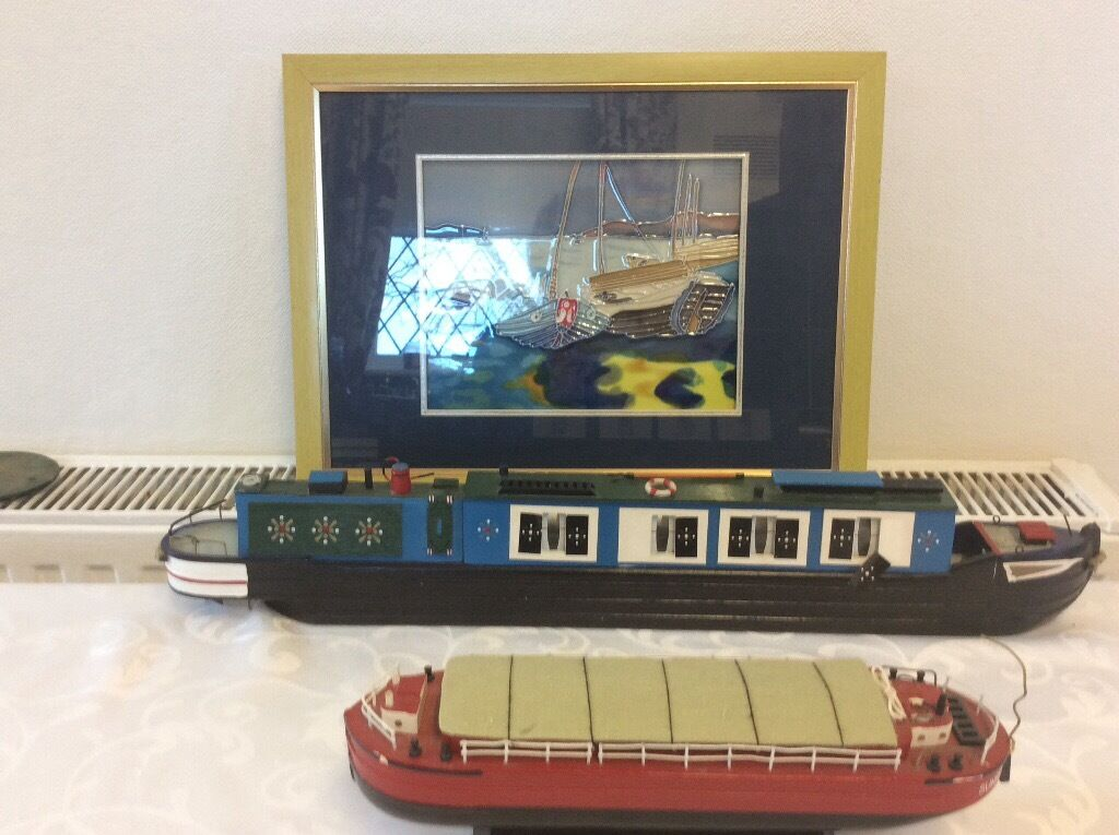 Boats job lotin Bradford, West YorkshireGumtree - For sale two narrow boats and a picture , narrow boats may need a touch up with paint as show in pictures. Sizes of the narrow boats 20 inch long and ten inch long , thanks for looking