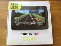 "Tom tom start 25 5"" sat nav with Western European maps"