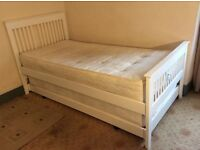 John Lewis single bed with trundle quest bed