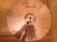 "Paiste 16"" Dimensions rock crash cymbal."
