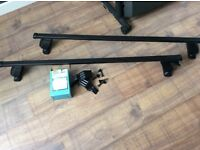 Renault Clio roof bars system A.. paid £90