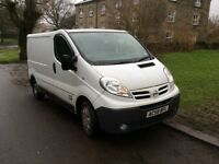 Nissan Primastar 58 2009 SWB AS Trafic and Vivaro White Bike Van Transport