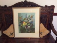 Framed print by Vernon Wade