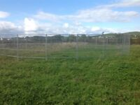 Private paddock to let with two field shelters