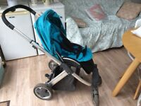 Oyster pram/ stroller combo with accessories