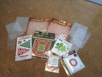 Christmas Craft Dies & Embossing folders