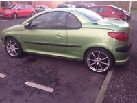 Peugeot 206 cc sell or swap