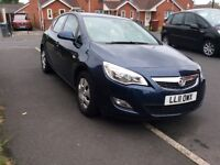 VAUXHALL ASTRA 1.7 CDTI 5DR hatchback Diesel Manual 2011 Full hISTROY 12 Mouth mot miles 115000