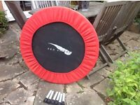 Small exercise trampoline for sale