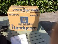 SONY VIDEO CAMCORDER