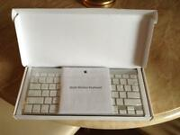 Apple Bluetooth and wireless keyboard