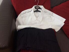 Boys school trousers&shirts