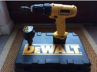 DeWalt drill driver 12 V