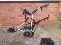 Powakaddy Freeway Electric Golf Trolley.