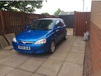 Vauxhall Corsa van modified