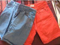 Zara cotton shorts