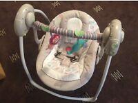 Mothercare Baby Swing Comfort Harmony Cosy Kingdom