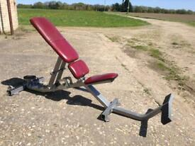 Hammer Strength Utility Bench (Delivery Available)