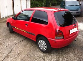 TOYOTA STARLET Reduced