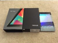 Google nexus 7 android tablet