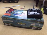 Radio controlled helicopter,blade mcp x