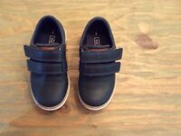 Boy's blue shoes smart wedding from NEXT size 7
