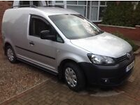 VW Caddy, 102ps, VW history, light use, low mileage, Reluctant sale.