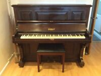 Eungblut of London upright piano. Very Good condition for age