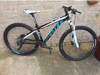 Scott contessa 710 mountain bike small with upgrades as new