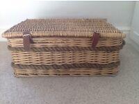 Storage basket/ hamper - ideal for shoes or toys