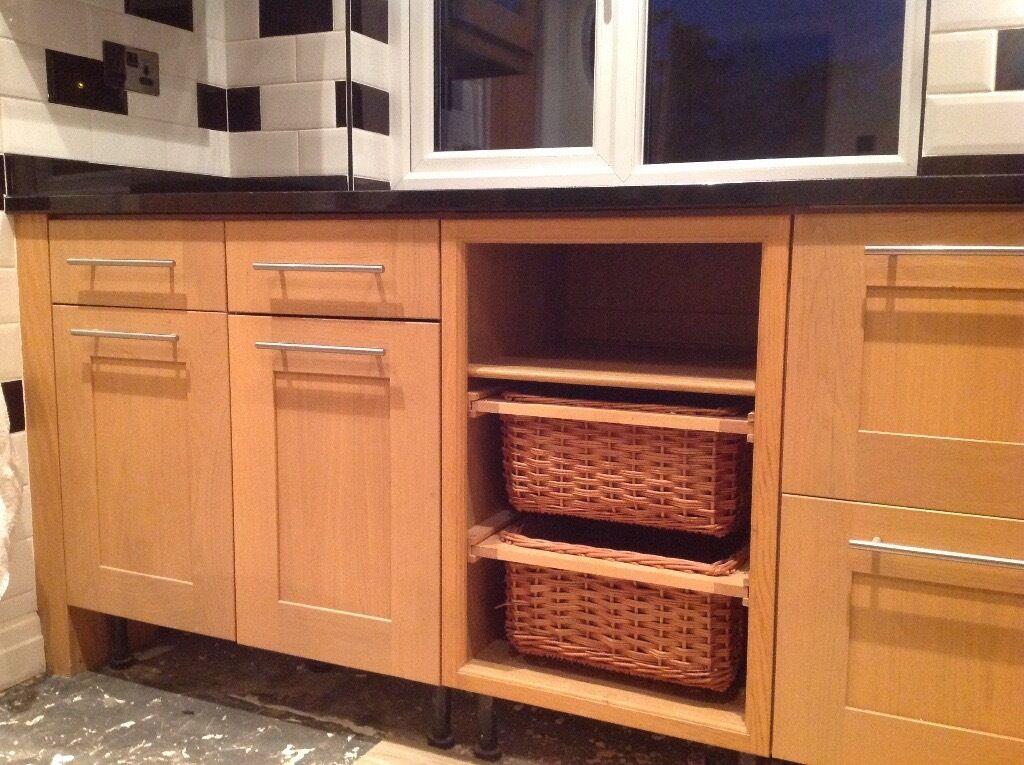 Magnet Shaker Style Kitchen Units Wood In Freckleton
