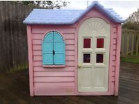 Children's little tikes cottage playhouse